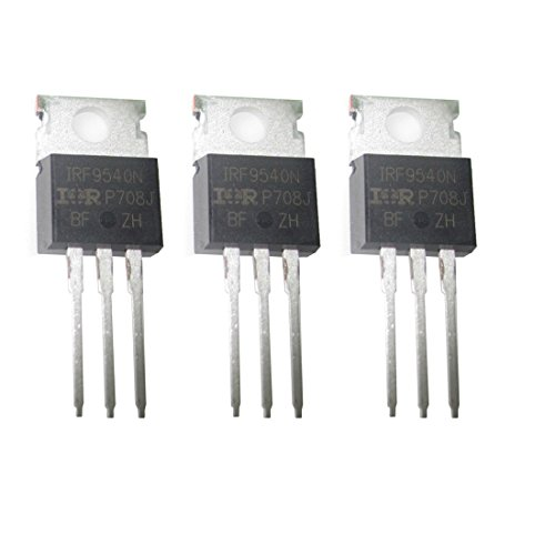 3 PCS IRF9540N IRF9540NPBF 100V 23A P-Channel Fast Switching Power MOSFET