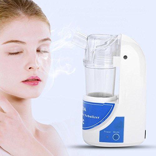 Yotown Vaporizador Facial Humidificador ultrasónico portátil Belleza del atomizador del nebulizador(US)