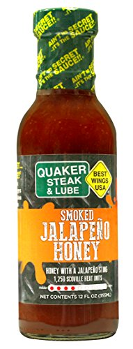 Smoked Jalapeno Honey/LOWEST PRICE AVAILABLE AND 50% OFF 2ND BOTTLE WITH QS&L SELLER