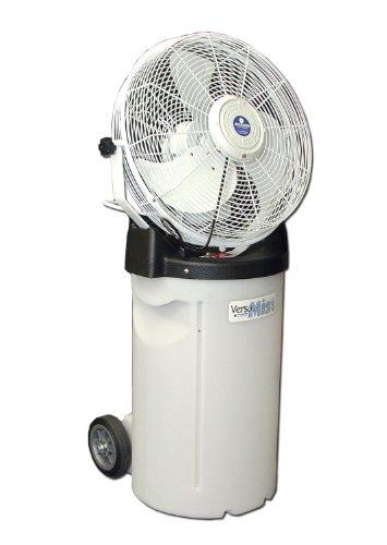 Schaefer PVM18C 18'' Misting Fan with Pump Base, Cooler Cart by Schaefer