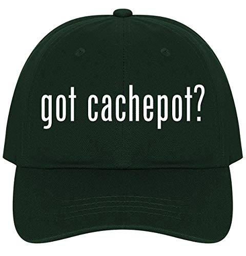 The Town Butler got Cachepot? - A Nice Comfortable Adjustable Dad Hat Cap, Forest