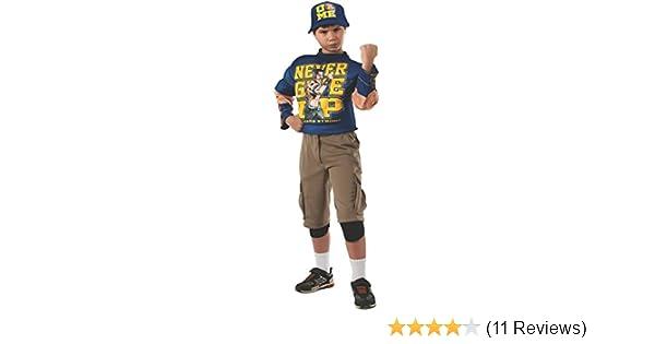 Muscle Chest John Cena Costume WWE Halloween Fancy Dress