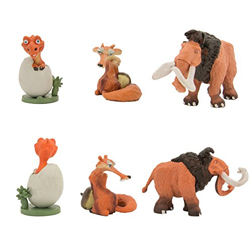 Toys From Ice Age 1 : Pcs ice age figure play set pvc collection toys
