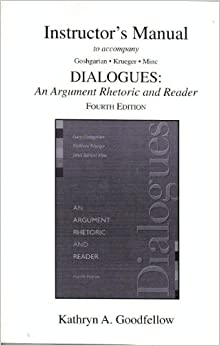 dialogues an argument rhetoric and reader His reader to undertake particular practices in the course of reading or listening to a dialogue that form her into a lover of wisdom who, like socrates, recognizes the partial and perspec- tival nature of her own knowledge in contrast with many other forms of rhetoric and poetry among his contemporar- ies, plato's dialogues.
