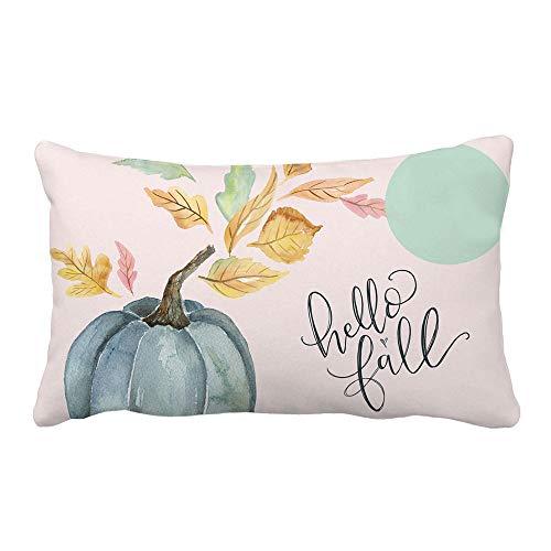 Goodtrade8 Clearance Pumpkin Fall Throw Pillow Case Cover Decorations Halloween Pillowcase Cushion Sofa Waist Throw Cushion Cover Farmhouse Autumn Home Decor 19.7