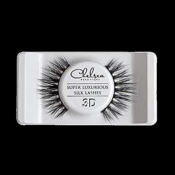c257e867374 Silk Strip Lashes Elizabeth 3D: Amazon.ae: ChelseaBeautique