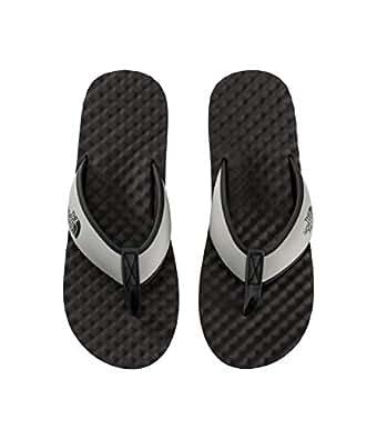 The North Face Men's Base Camp Flip-Flop Athletic & Outdoor Sandals, Phantom Grey/Silt Grey, 7 US