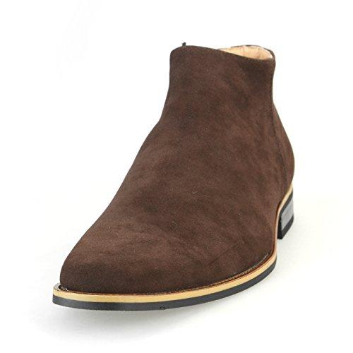 文字ケージ貧困[シュベック] SVEC 25種類から選ぶ カジュアルブーツ ゴア チャッカブーツ ショットブーツ メンズ 靴 ブラック ブラウン