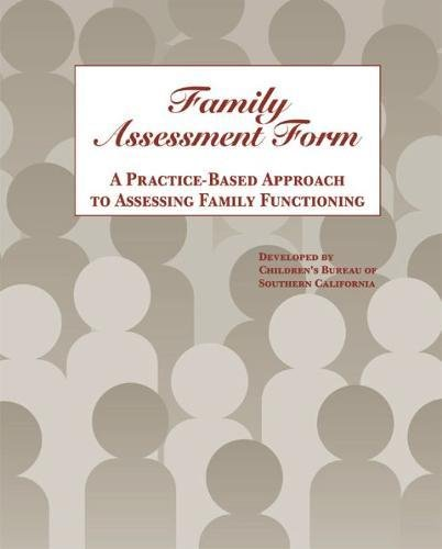 Amazon.com: Family Assessment Form: A Practice-Based Approach to ...