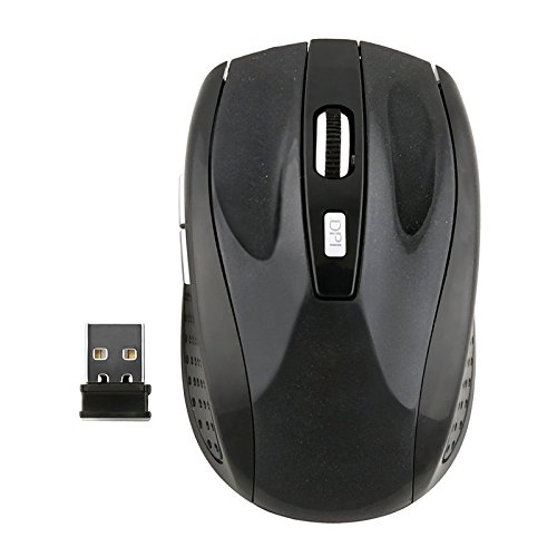 Insten Black 2.4G Wireless USB Whell Optical Mouse For PC La