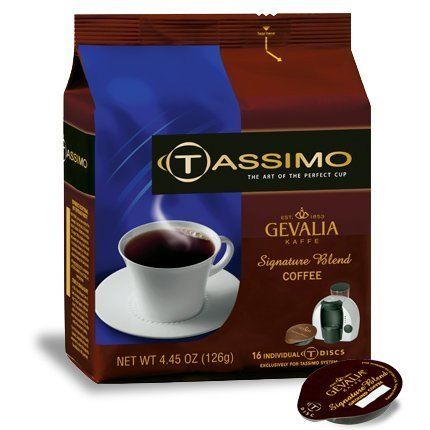 Tassimo Signature Blend Coffee T-Discs, 80ct by Tassimo by Tassimo