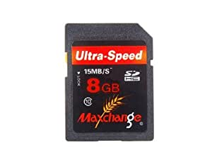 Vayne Maxchange 8GB Class 10 Tarjeta SD (Negro)