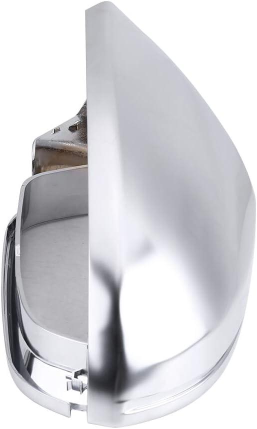 Spiegelkappe R/ückspiegel Shell Cover Schutzkappe Matt Chrom f/ür A6 C7 S6 1 Paar R/ückspiegelschalen