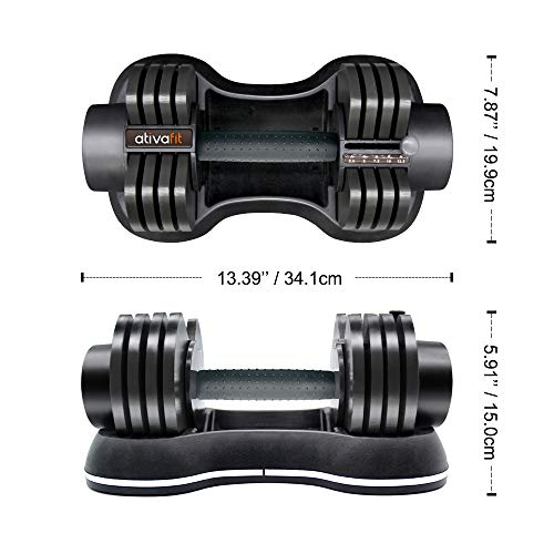 ATIVAFIT-Adjustable-Dumbbell-for-Workout-Strength-Training-Fitness-Weight-Gym-Single
