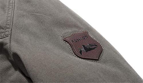 Army De En D'agneau Green D'hiver Laine 100 Casual Et Jean Ensembles Veste Coton Blousons Hommes Pour Paqx6T5n
