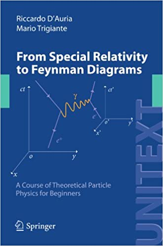 From Special Relativity To Feynman Diagrams A Course Of Theoretical