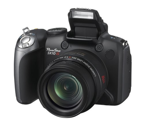 Canon Powershot SX10IS 10MP Digital Camera with 20x Wide Ang