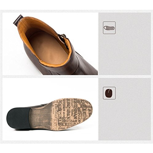 Jeunesse Chaussures Boots De Martin Zipper Vintage Darkgrey La ArA5q1xwd