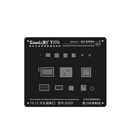 QianLi ToolPlus 3D BGA Reballing Stencil iBlack Communication for sale  Delivered anywhere in USA