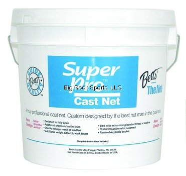 Betts 20-7 Super Pro Mono Cast Net ()