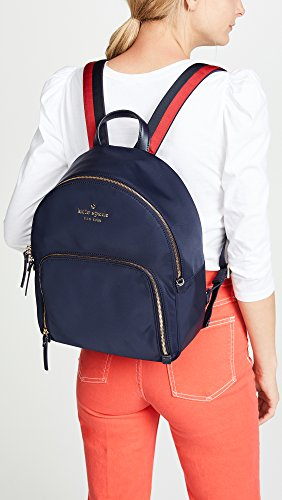 Women's with Stripe Hartley Kate Navy Backpack Spade New Lane Size Rich Rich One Watson Varsity Navy York x8wvSqwf