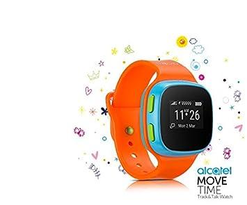 Alcatel - Reloj para niños Move Time SW10, naranja, Italia: Amazon.es: Electrónica