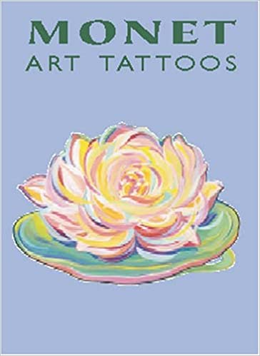 Amazon Com Monet Art Tattoos Dover Tattoos 9780486424156 Monet Claude Noble Marty Books