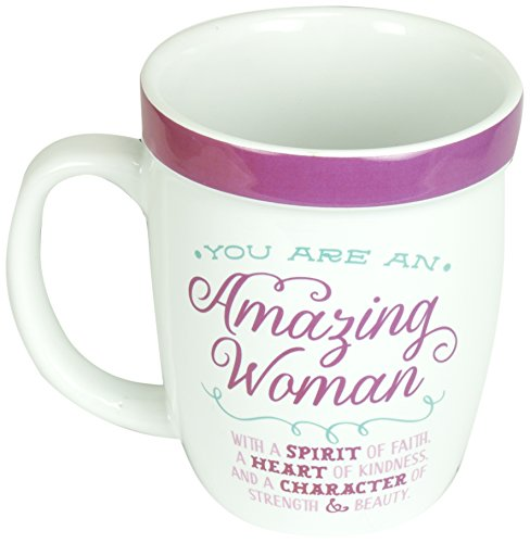 Abbey Gift Amazing Woman Cafe Mug (Cups Religious)