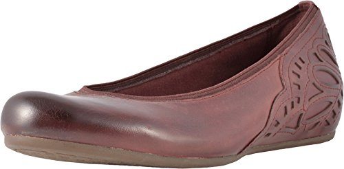 Rockport Cobb Hill Collection Women's Cobb Hill Sharleen Pump Merlot Leather 7 B US ()
