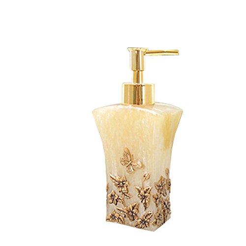 (Shower Gel Bottles European Home Hand Sanitizer Presser Bottles Cosmetics Empty Bottles (butterfly))