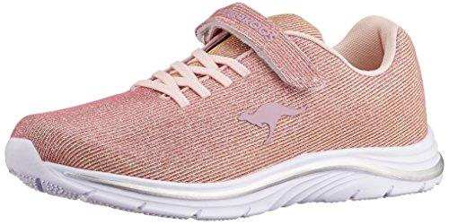 Kangaroos Unisex Adults' Kangashine Ev Trainers Pink (Rose/Gold 6081)