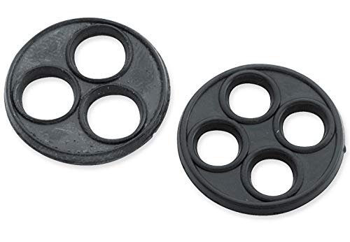 Bikers Choice Late Style Petcocks - Replacement Vavle Gasket 4-Hole 011415 Bikers Choice Straight Outlet