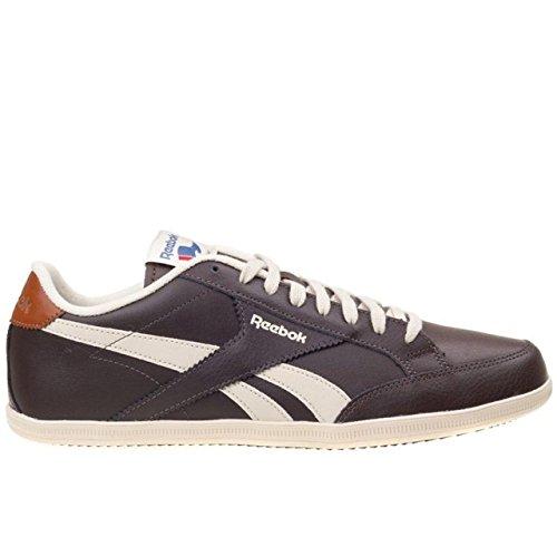Reebok Royal Transport - Zapatillas de deporte, Hombre Marrón / Blanco (Dark Brown / Paperwhite / White / Brown Malt)