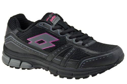 Lotto - Lotto Zenith II W Zapatos Running Mujer Negro Q7656 Negro