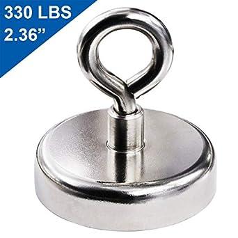 5e2b08e2210 Super Strong Neodymium Fishing Magnets, 330 lbs(150 KG) Pulling Force Rare  Earth