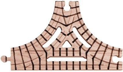 愛用  【米国正規商品並行輸入】ネームトレイン 木製おもちゃ Wooden Wooden Wye Train Track Train - T Wye 三叉分岐 B000JQXEC6, ミズホシ:670d57cf --- test.ips.pl