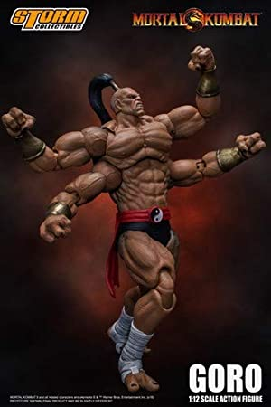Amazon Com Storm Collectibles 1 12 Goro Mortal Kombat Action