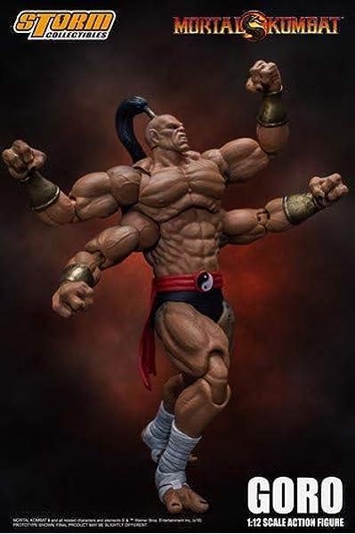Storm Toys 24cm Mortal Kombat Series MOTARO Action Figure soldier Toy