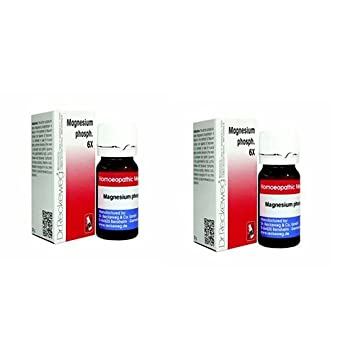 2 Lots X Dr.Reckeweg-Germany Magnesium Phosph.6X 20G Homeopathic Medicine