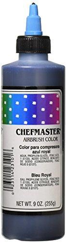 - Chefmaster Airbrush Spray Food Color, 9-Ounce, Royal Blue