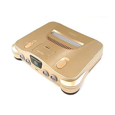 Nintendo 64 System - Video Game Console - Gold