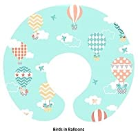 Boppy Pillow Slipcover Birds in Balloons