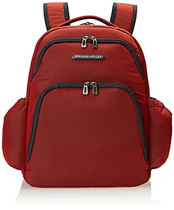 Briggs & Riley Backpack, Crimson, One Size