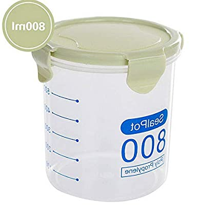 9405b6a29c6d Amazon.com: Mikash Kitchen Food Storage Container Boxes For Cereal ...