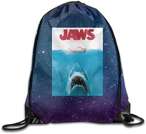 grande capacit/à muti-funzione zaino da viaggio Coosun Shark Jaws poster sfondo zaino borsa fasciatoio