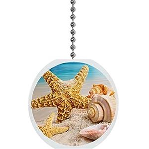 41ZKdX4N02L._SS300_ 75+ Coastal & Beach Ceiling Fan Pull Chain Ornaments For 2020