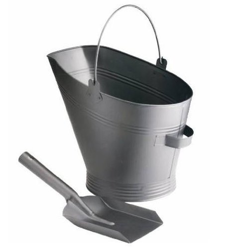 Fireplace Waterloo Coal Bucket & Shovel by Centurion For Sale