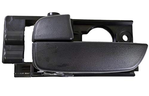 - PT Auto Warehouse HY-2235A-FL - Interior Inner Inside Door Handle, Black - Front Left Driver Side