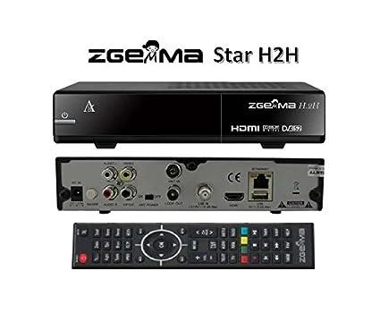 Zgemma Gmax H 2H Satellite Receiver Dual Core Linux H2H IPTV ODVB-S2 +  Hybrid DVB-T2/C