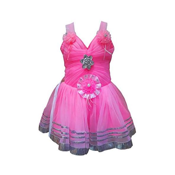 Apna Showroom Designer Baby Girl's Cotton Fancy Skirts Combo – (Pink Color, 0-6-12-18-24 Months 2-3-4 Years)